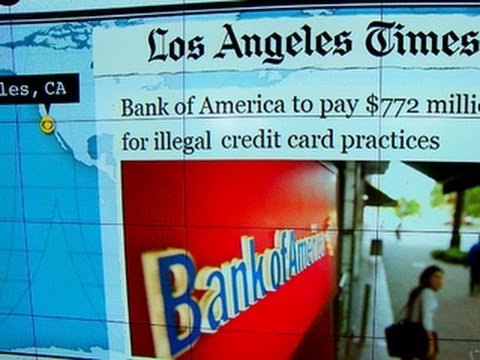 Headlines: Bank of America to refund customers $772 million for illegal credit card practices
