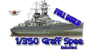 Academy 1/350 Admiral Graf Spee Full Build  reloaded