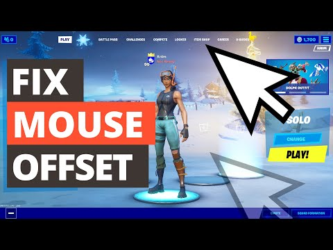 How To Fix A Misaligned Mouse Cursor In Fortnite