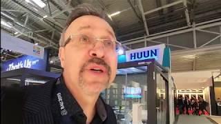 BAU2019. Огромная строительная выставка. Январь 2019. Мюнхен.