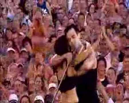 Robbie Williams live in Knebworth come undone