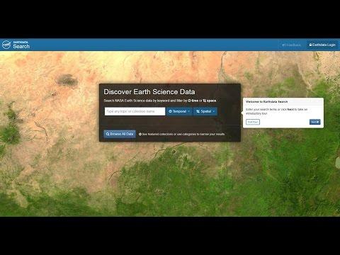 Earthdata Webinar: Discover Earth Science Data with NASA Earthdata Search
