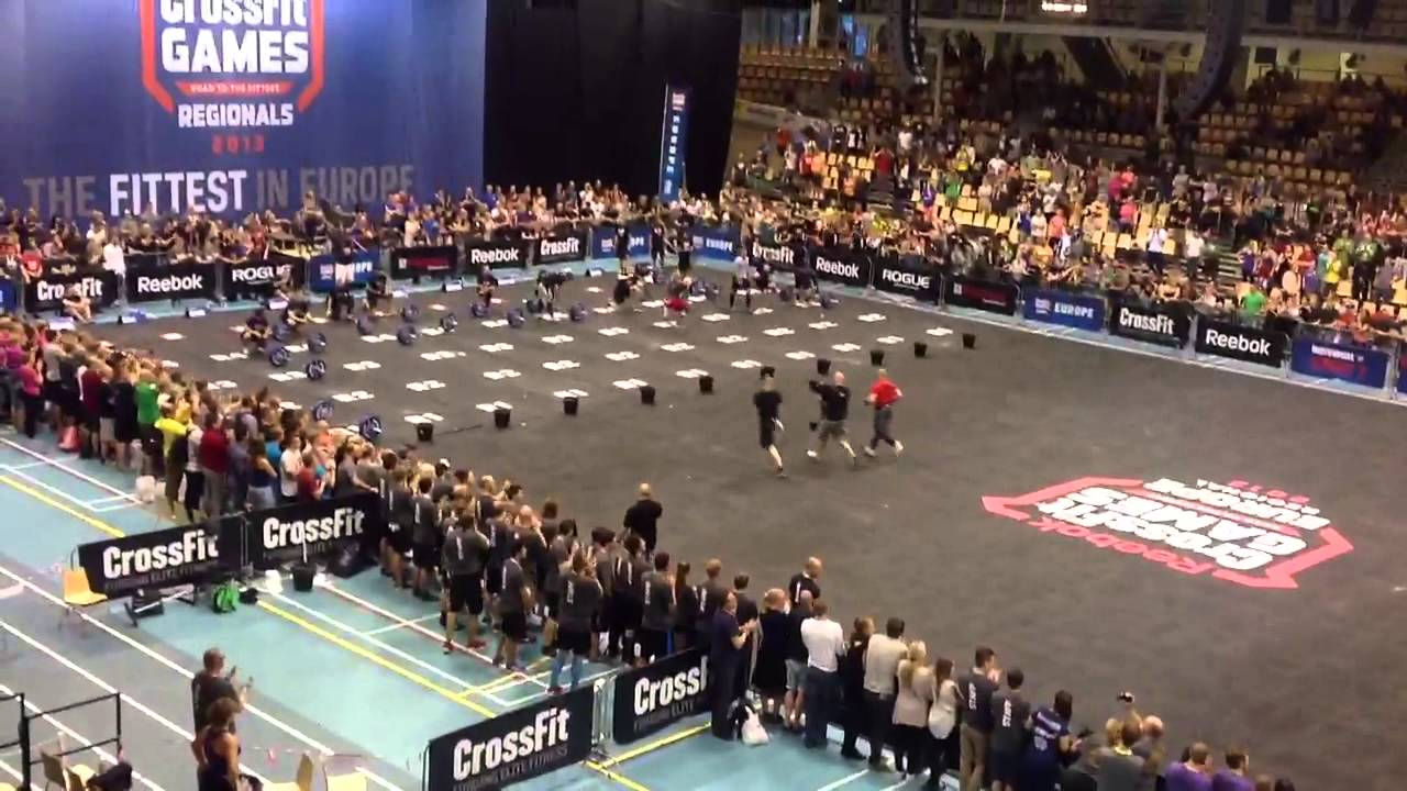 Crossfit European Regionals 2013 Mens Final Youtube