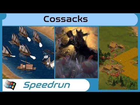 """(Speedrun) Cossacks European War """"Stepan Razin"""" in 03m 49s [PC]  """