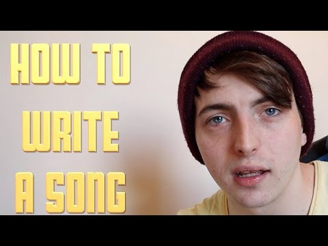 How to Write a Song for beginners!  (SONGWRITING TIPS)