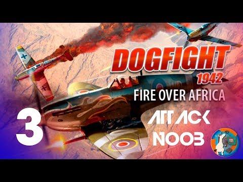 Dogfight 1942 Fire over africa 3 gameplay en español |