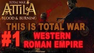 Video This is Total War: Attila - Legendary Western Roman Empire #1 download MP3, 3GP, MP4, WEBM, AVI, FLV November 2017