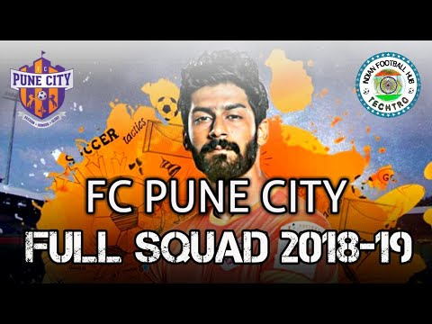 FC PUNE CITY - FULL SQUAD - ISL 2018/19 SEASON