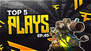 SICK BLACK OPS 3 TRICKSHOTS! - Top 5 Plays Episode #45