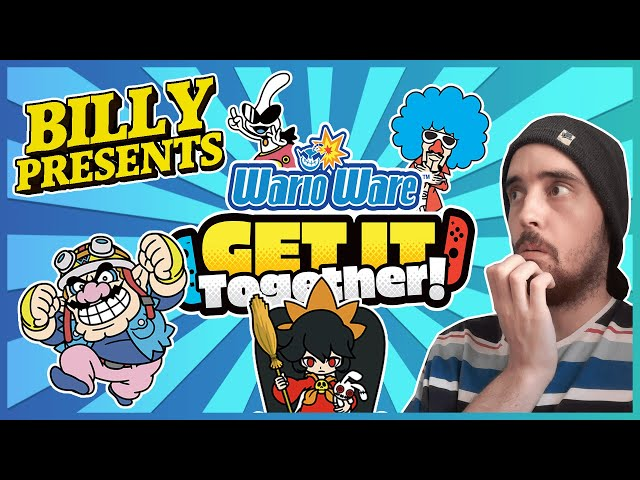 Billy Presents: WarioWare: Get It Together & What Game Would YOU Be Trapped In? /w Myth
