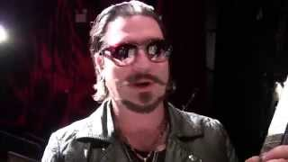 Rival Sons guitarist Scott Holiday on his live gear