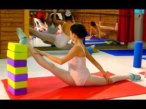 Escuela Sudamericana de Ballet-part 12th- flexibility-Stretching exercises- class-