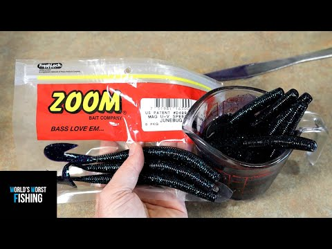 BIG BRAND Bait-Meltdown!!! Remelting Brand Name Soft Plastic Lures