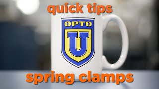 Opto 22 Quick Tip: Spring Clamps