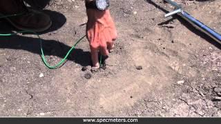 Watermark Soil Moisture Sensor Installation