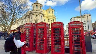 LONDON WALK | Charing Cross to Holborn Station via St Martin's Lane and Long Acre | England
