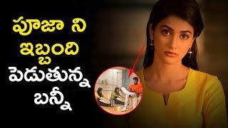 Pooja hegde stretches extra for allu arjun | latest telugu movie news