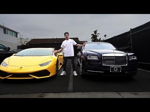 CHOOSING MY NEW CAR!! (Lamborghini or Rolls Royce) | FaZe Rug