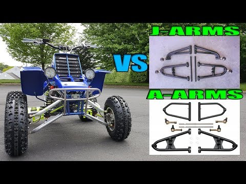 Fix J-Arm Wiggle | Why Yamaha Switched From J Arms to A Arms