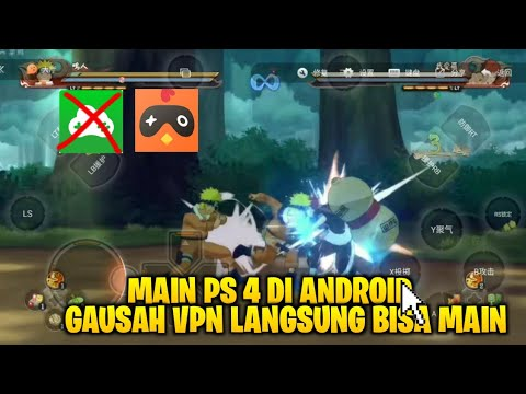TERBARU!! CARA BERMAIN GAME PS4/PC DI ANDROID 2019 | CHICKEN GLOUD ?!