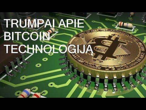 bitcoin technologija