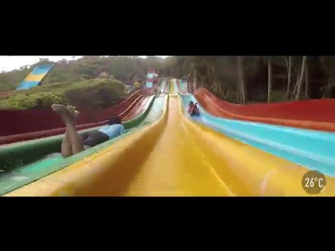 Feel the thrill with the water rides at Wonderla