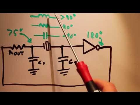 Pierce Crystal Oscillator Theory and Design