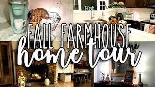 FALL HOME TOUR | FARMHOUSE DECOR | DOLLAR STORE BUDGET | FALL 2018