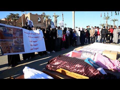 شاهد: ليبيون يبكون موتاهم بعد انتشال 10 جثث أخرى من مقبرة جماعية في ترهونة…  - نشر قبل 3 ساعة