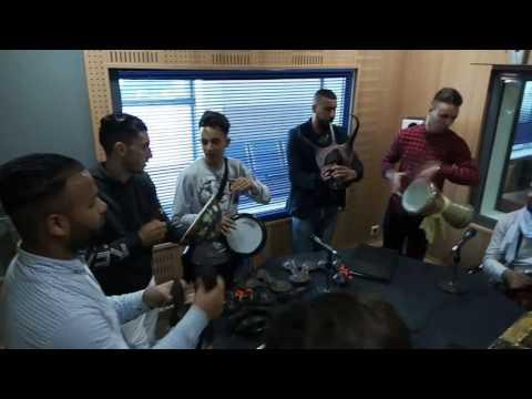 Intro balance Lahbab group sur studio radio El Bahdja émission Afriqua Gnawi