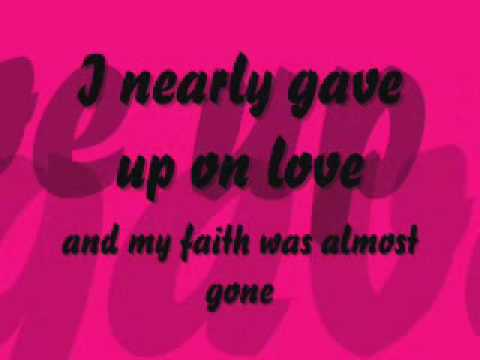 Now and For Always by Amy Pearson w/lyrics