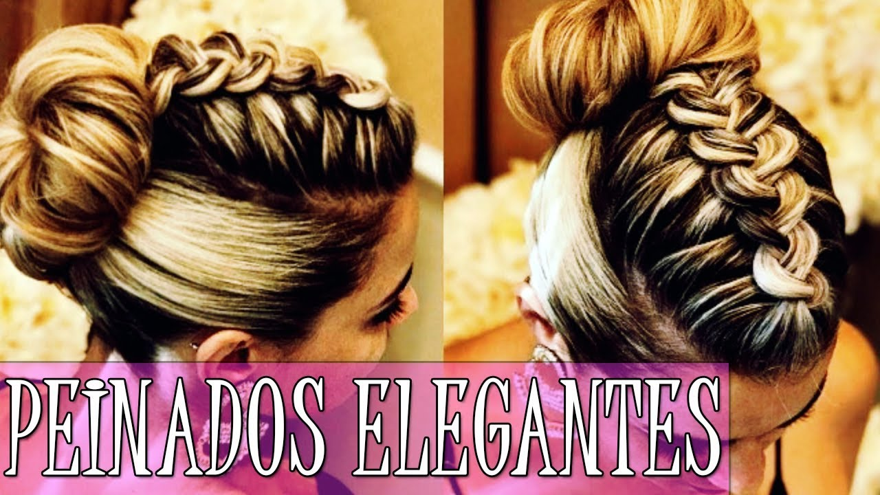 Peinados Elegantes Para Fiesta De Noche Cabello Largo 2018 2019
