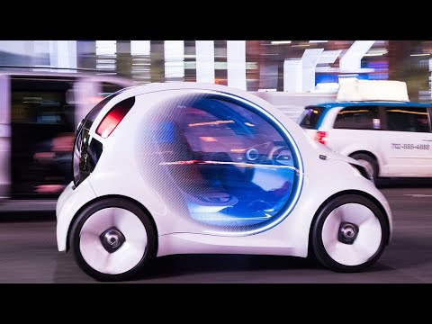Download Youtube: Mercedes-Benz Smart Vision EQ concept first ride