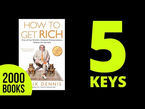 How to Get Rich Felix Dennis Book summary