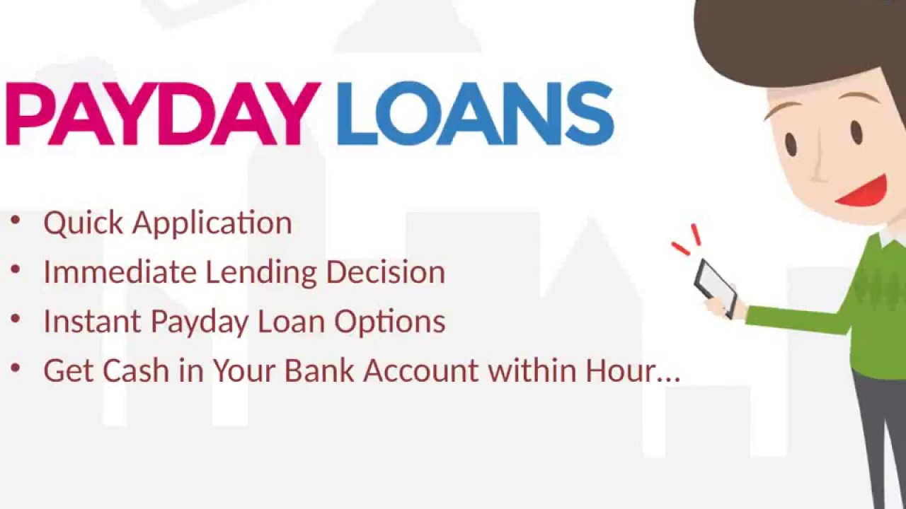 fast approval payday loans bad credit check 1 hour payday loan same day payday loans - YouTube