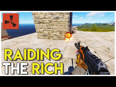 Taking over THE NORTH and RAIDING the RICH! - Rust survival #83 thumbnail