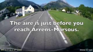 Arrens-Marsous Aire de Camping-Car