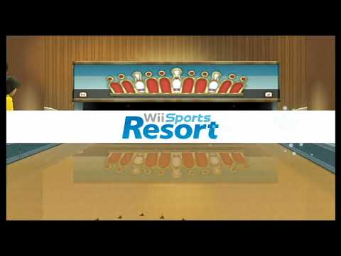Wii Sports Resort - 100-Pin Bowling: Split-Spare Conversions