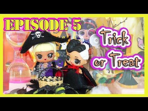 L.O.L. SURPRISE DOLLS STOP MOTION EPISODE 5 - TRICK OR TREAT