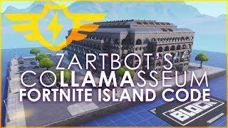 Zartbot's CoLLAMAsseum Island Code - Fortnite Creative Mode - ZAP