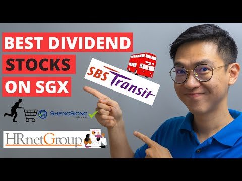 3 Best Dividend Stocks on the Singapore Exchange
