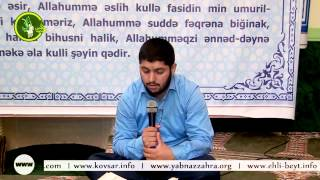 Hacı Rahib Ramazan 20-ci gün Quran tilavəti (20-ci cüz)