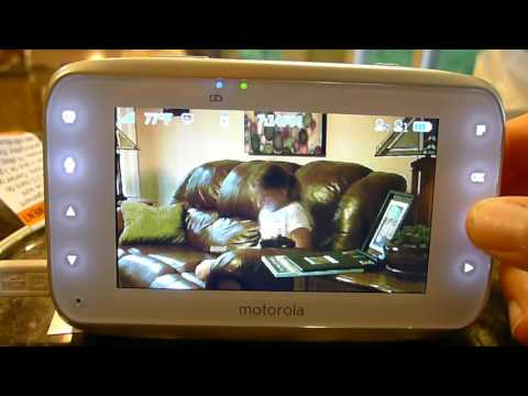 Motorola MBP38S-2 Review: digital video baby monitor with two cameras
