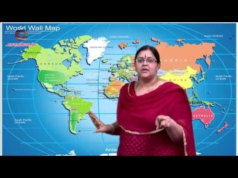 Polar Region - Class 8 th Class- Social Studies in CCE pattern