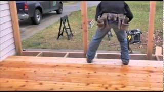 "Build A ""cedar Deck"" High"