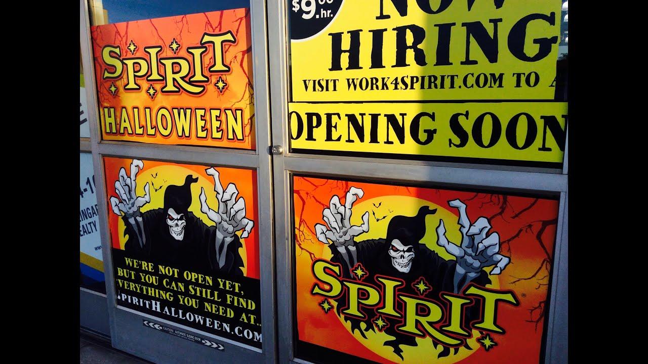 spirit halloween location 2016 returning location