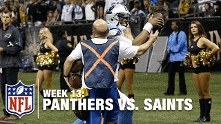 Cam Newton Tosses TD, Steals Football from Ball Boy! | Panthers vs. Saints | NFL