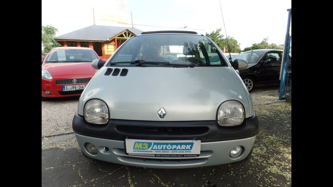Renault twingo panorámatető