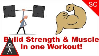 How to Train for Strength & Muscle Mass in the Same Workout