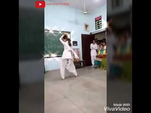 Beautifully Desi School Girl Dance On Haryavni Song Bolan Me Bhi Tota s.........Anilsutharrj13 Wala